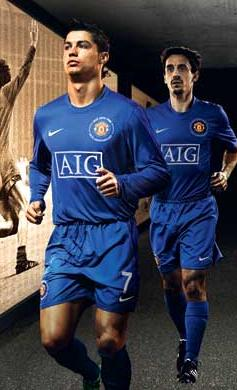 new product 64a7b afbdf PICTURES: What Do Gary and Ronaldo Think Of New Kit?