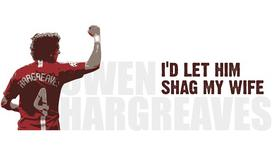 Hargreaves: My Chant Makes Me Laugh
