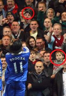 Shameless Defence Of Chelsea's Drogba… But What About Rooney's Fan Relations?