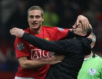 Caption Time… What Is Vidic Thinking?
