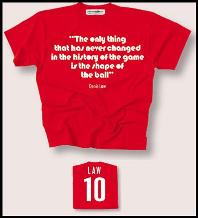 WIN A Denis Law T-shirt