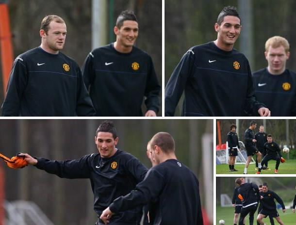 PICTURES: Fed The Red Happy In Training