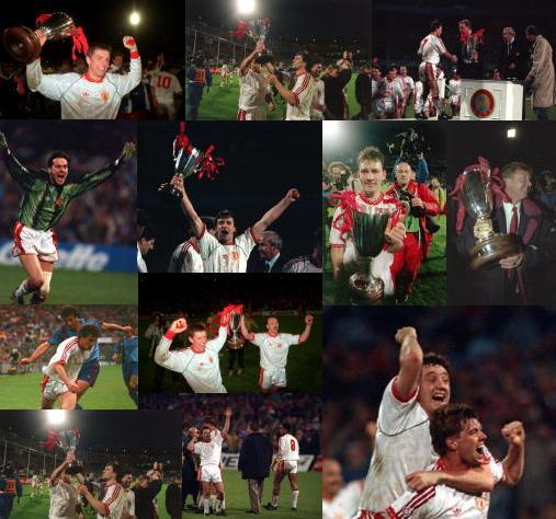 Manchester United vs Barcelona 1991