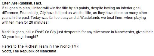Laughing At City On F365