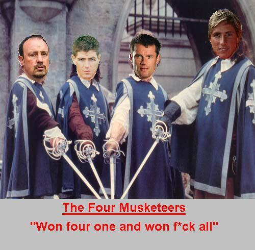 Liverpool's Musketeers