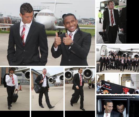 PICTURES: Players Leaving Manchester