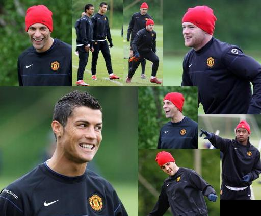 PICTURES: United In Training Today