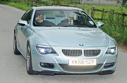 PICTURE: Michael Owen At Carrington For Medical