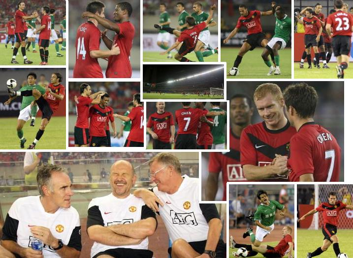 PICTURES: United Against Hangzhou Greentown