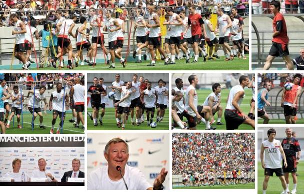 PICTURES: United Training In Seoul – All Eyes On Park