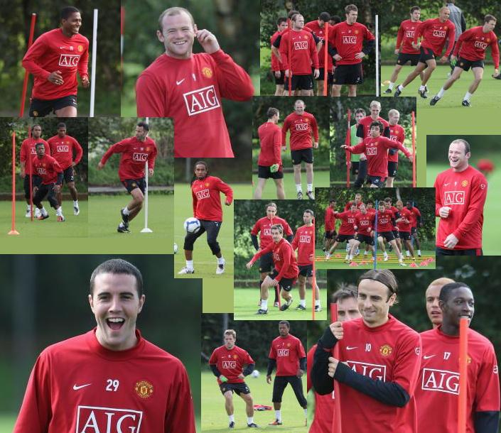 PICTURES: Training Ahead Of Arsenal Game