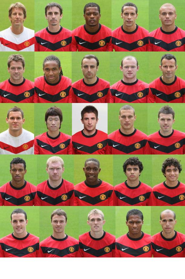11+ Manchester United Players Names