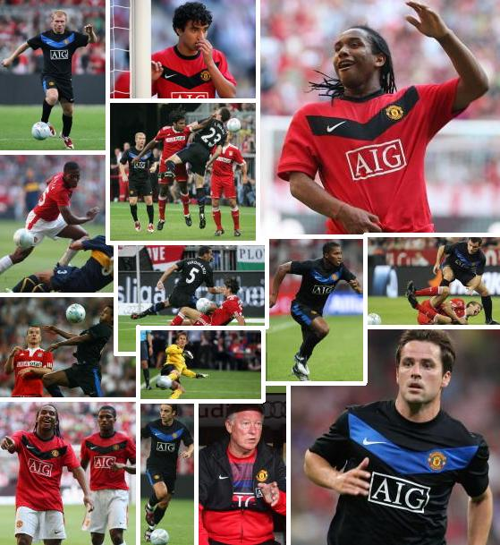 PICTURES: United At The Audi Cup