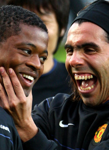 Evra: I Will Boo Tevez With The Fans