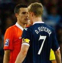 Fergie: Fletcher Annoyed Arsenal
