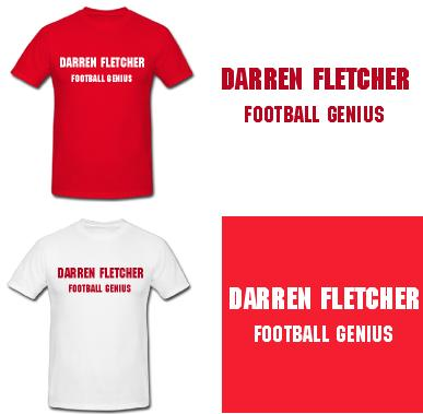 Darren Fletcher FOOTBALL GENIUS!