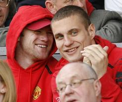 Vidic: Rooney Loves United And Will Be Here Forever
