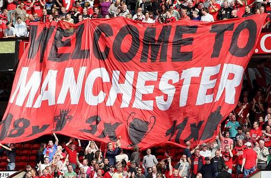 PICTURE: Welcome To Manchester Banner