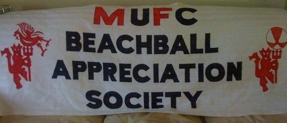 Manchester United - Liverpool banner
