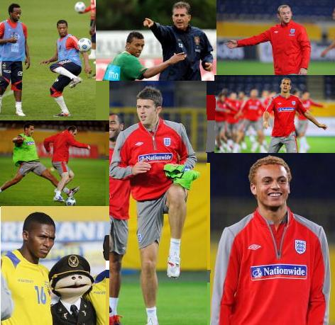 PICTURES: United Players On International Break