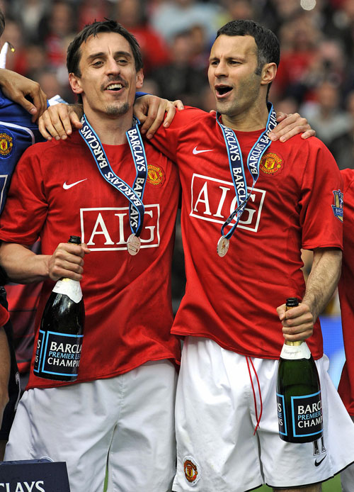 Neville and Giggs