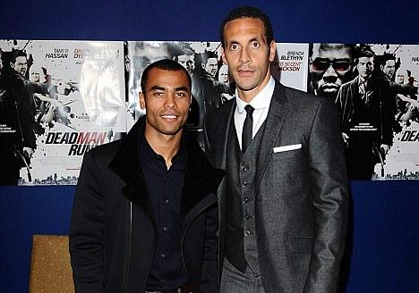 rio ferdinand ashley cole dead man running