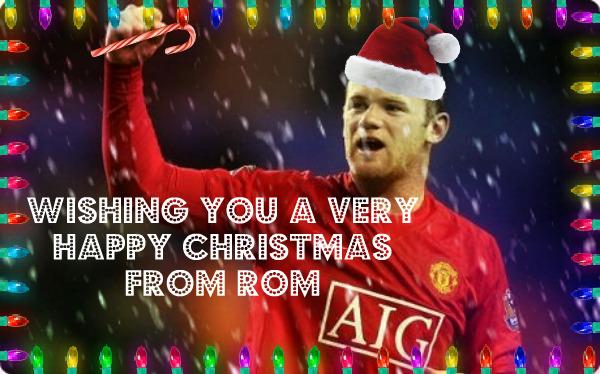 happy christmas rooney