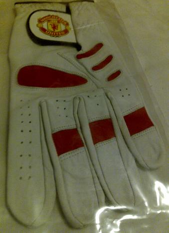 manchester united golf glove