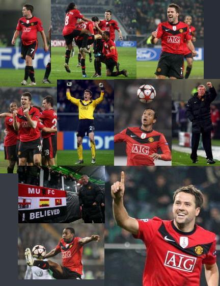 wolfsburg vs manchester united owen hattrick