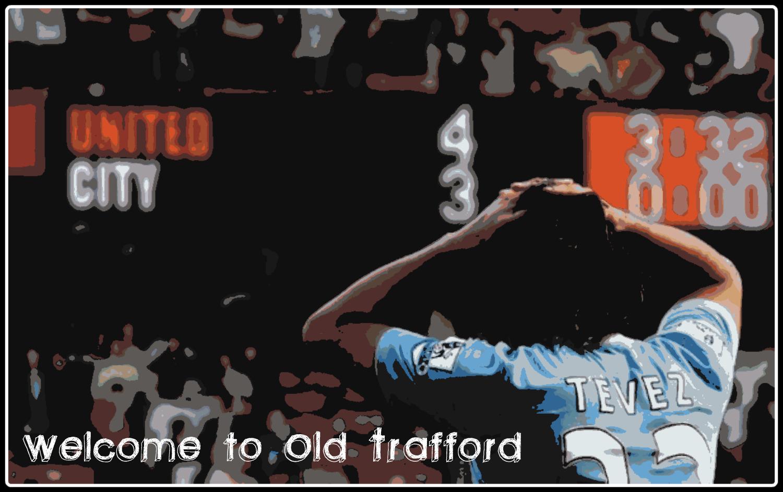 Carlos Tevez - Old Trafford - 4-3