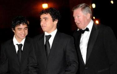 da Silvas with Fergie