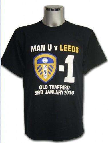 United vs Leeds FA Cup t-shirt