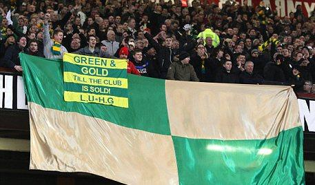 Manchester United - green & gold