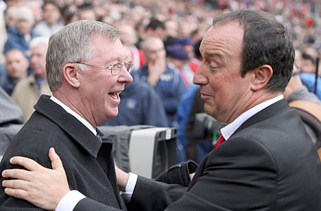 Benitez: United Are Top Whilst We're Struggling For Top Four