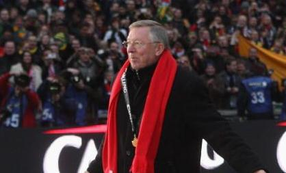 alex ferguson green gold