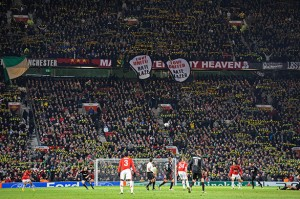 Love United Hate Glazer against AC Milan