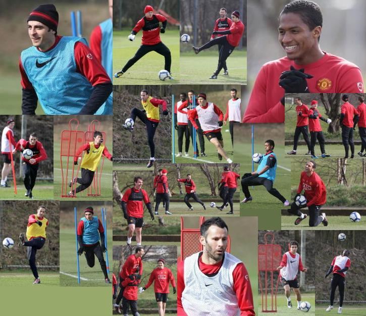 PICTURES: United Training Ahead Of Liverpool