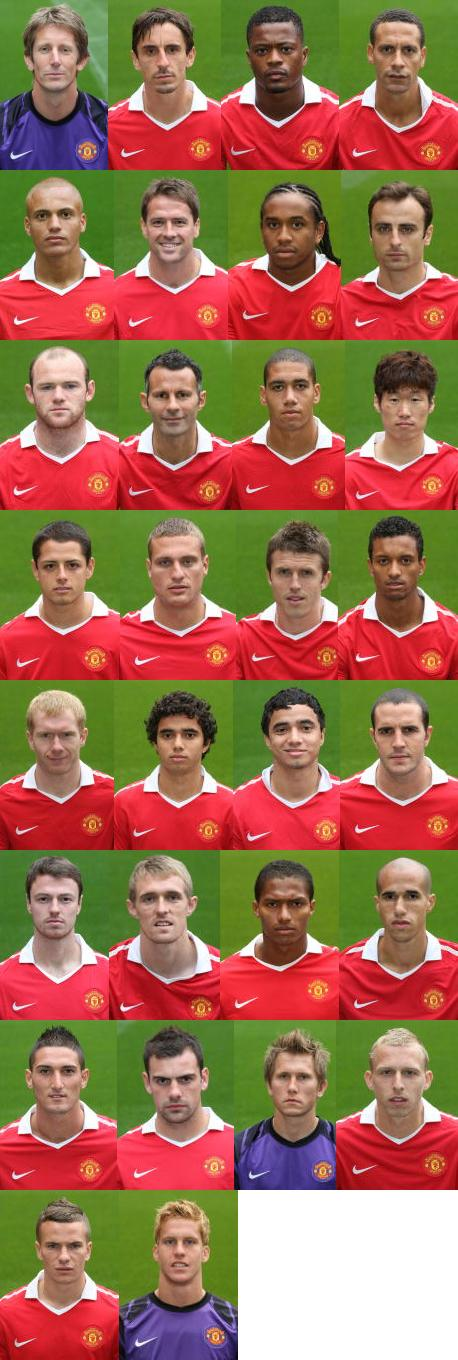 PICTURES: This Season's Mugshots and Team Photo – Anderson But No Hargreaves