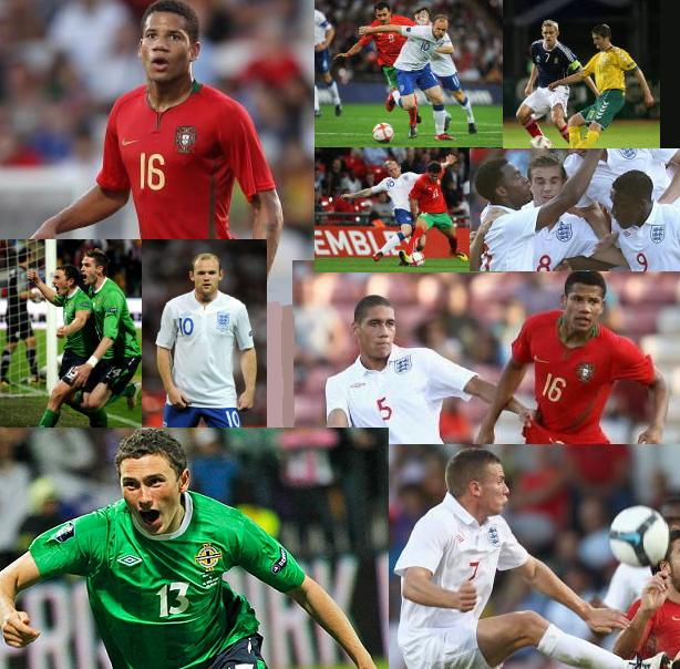 PICTURES: United Internationals In Action – Rooney, Corry Evans, Bebe etc.