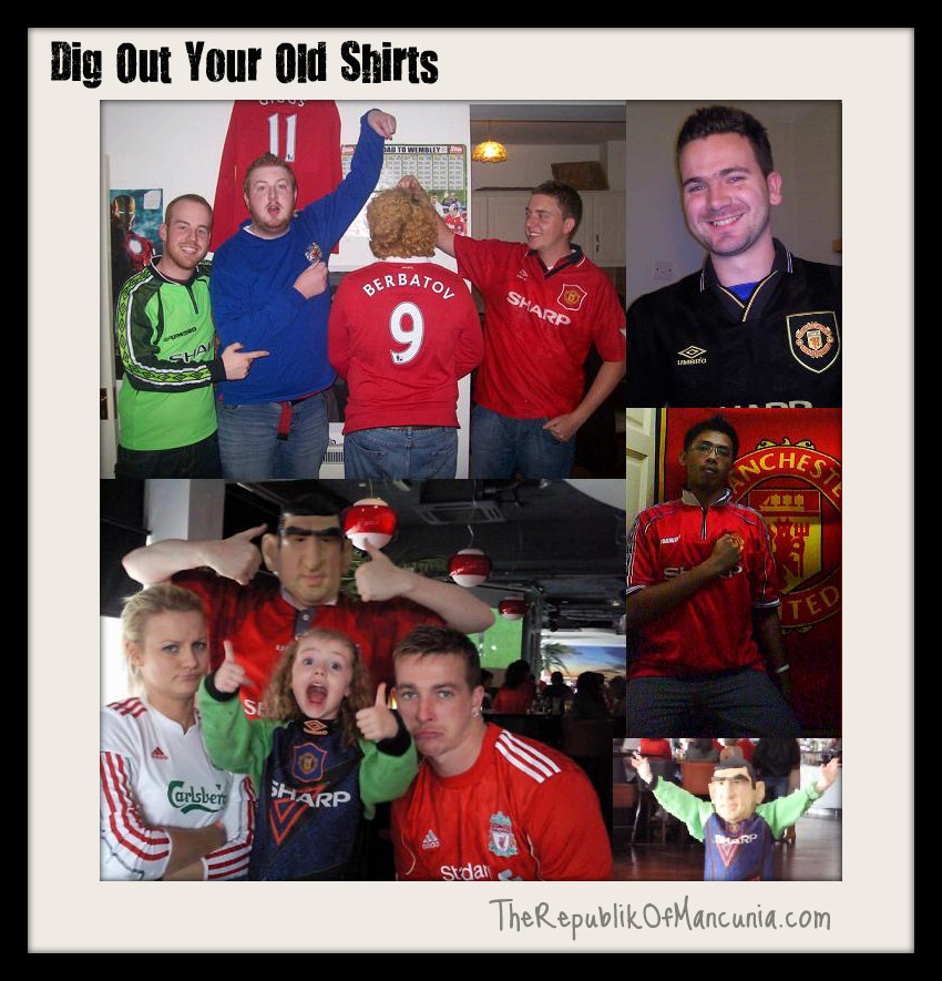 PICTURE: Dig Out Your Old Shirts