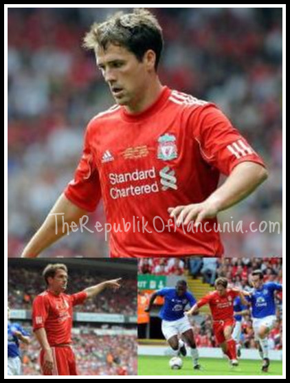 PICTURES: Owen Back In A Liverpool Shirt
