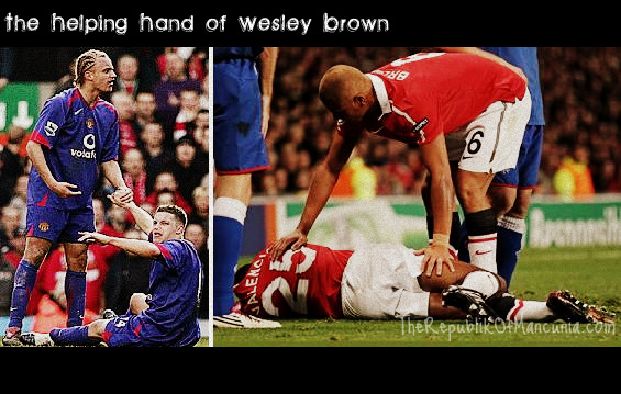 The Helping Hand Of Wesley Brown
