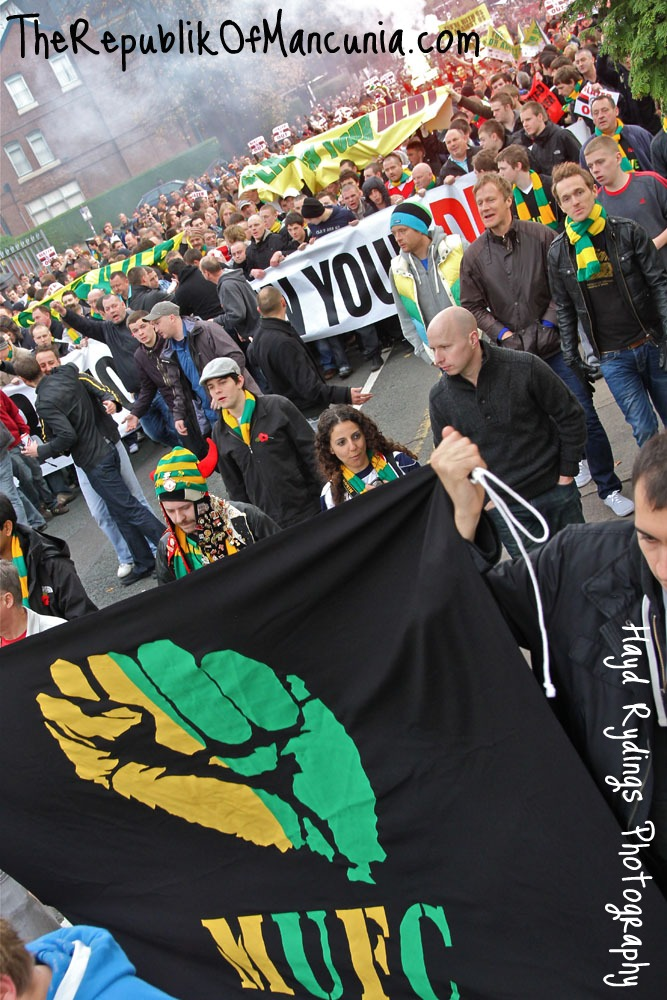 PICTURES: United Anti-Glazer Protest