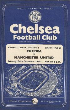 'Twas the night before Christmas: Chelsea v United
