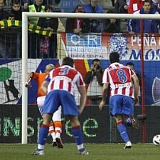 PICTURE: Atlético Madrid Copy United's G&G Protest