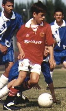 Joe Cole United shirt