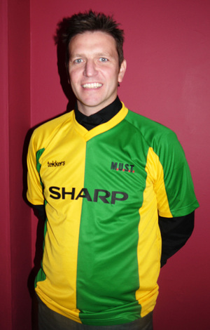 PICTURE: Lee Sharpe Is Green and Gold