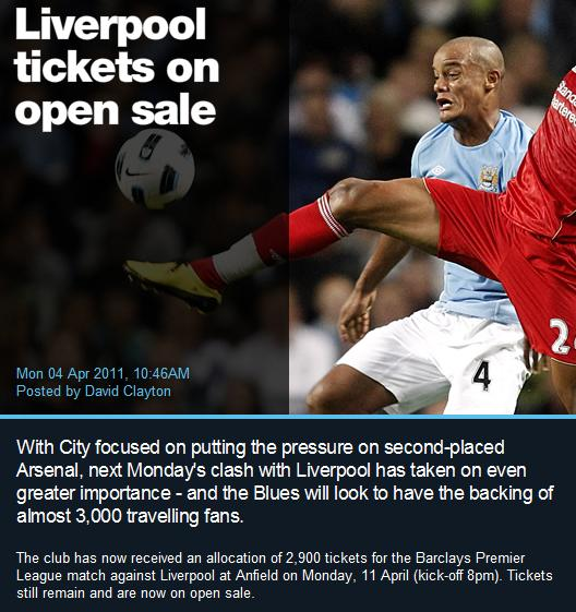 City Can't Even Sell 2,900 Tickets!