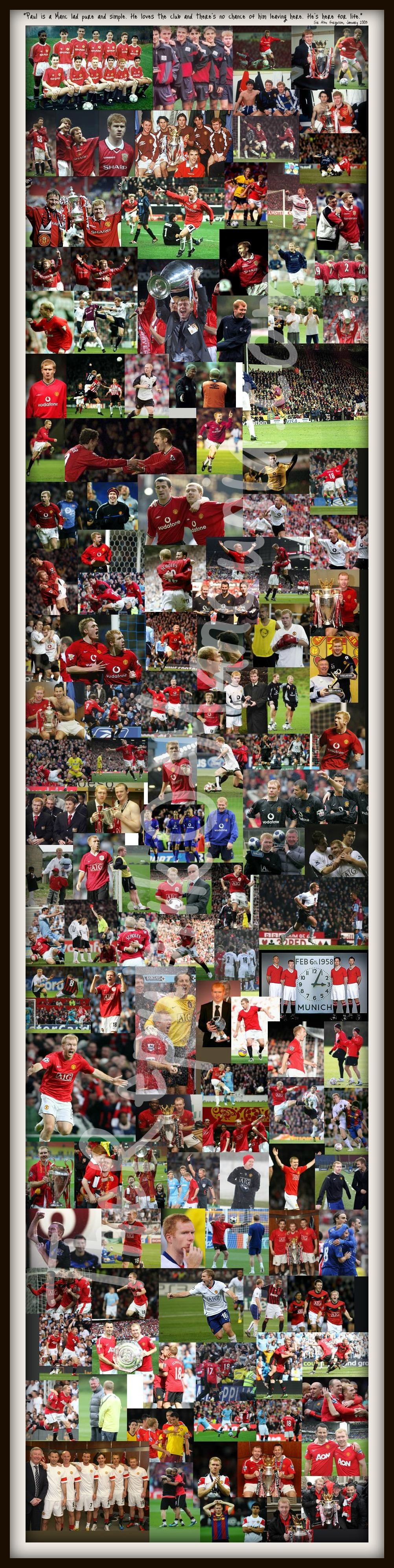 PICTURE: Paul Scholes' Career