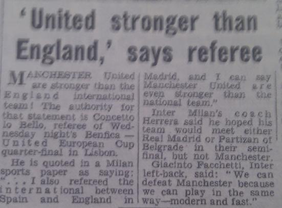 PICTURE: United > England 1966
